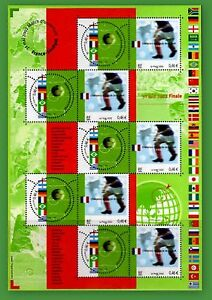 2002-FRANCE-BLOC-N-49-CHAMPIONS-MONDE-FOOTBALL-LUXE-NEUF-TIMBRE-STAMP-SHEET