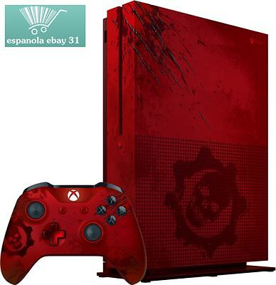 Xbox One S 2TB Console Gears War 4 Limited Edition BundleMicrosoft Video Game