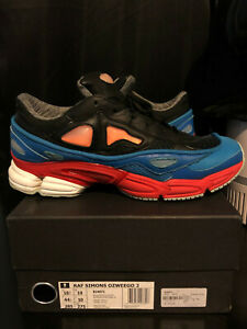 grossiste fbea2 c2698 Details about Adidas Raf Simons Ozweego II 2 Size 10.5 US Blue/Red
