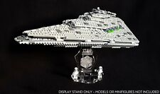 Display stand 3D +slots for Lego 75190 Star Destroyer - First Order (Star Wars)