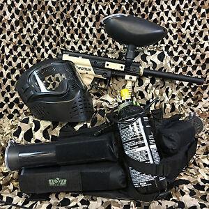 NEW-Tippmann-Cronus-EPIC-Paintball-Marker-Gun-Package-Kit-Tan-Black