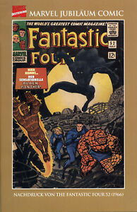 FANTASTIC FOUR 52 deutsch STAN LEE +J.KIRBY limited GERMAN REPRINT Black Panther