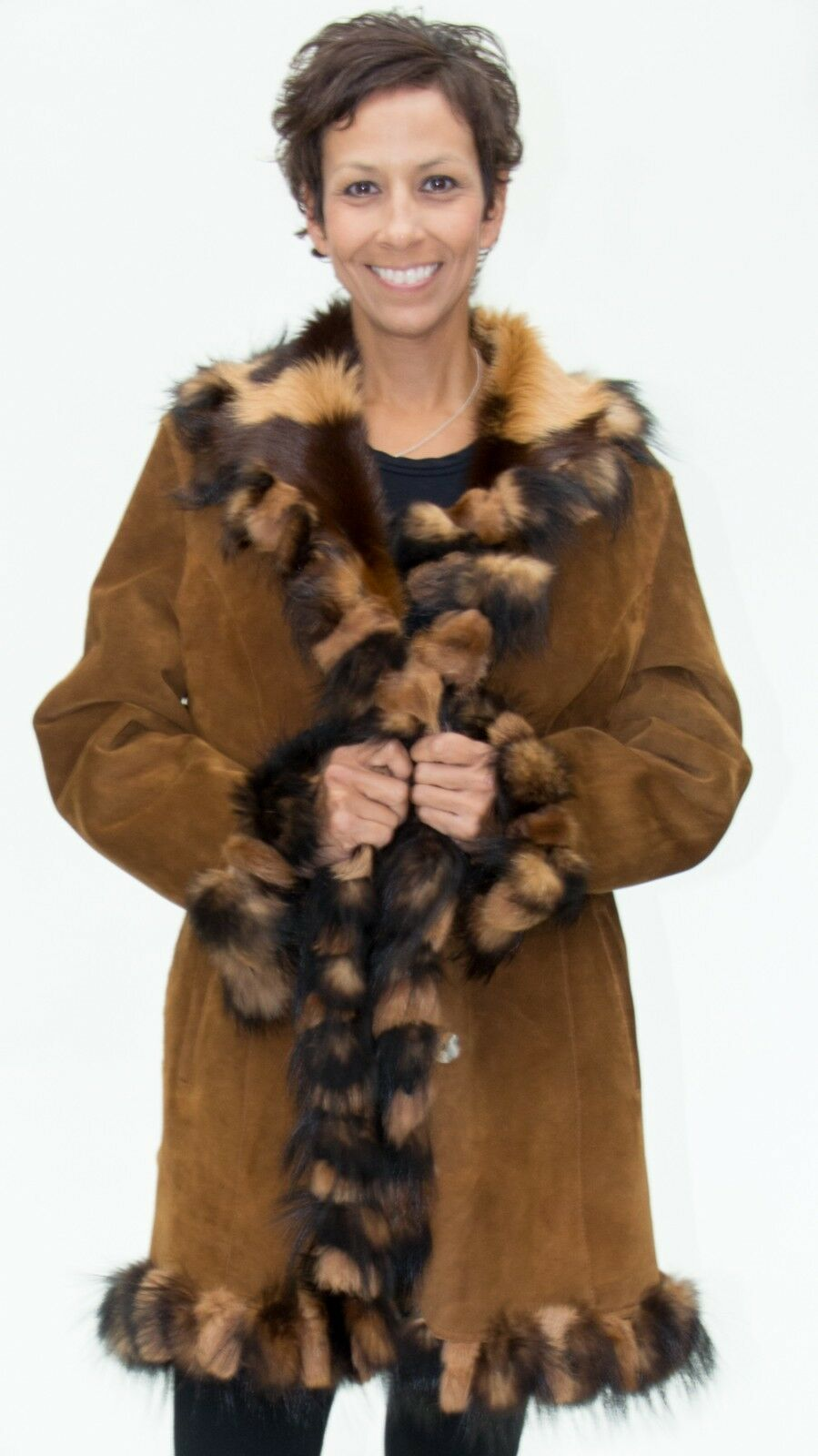 CLEARANCE Gorgeous Reversible Suede Shearling - size 10