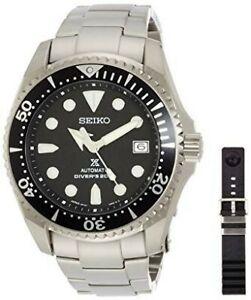 Seiko-JDM-Prospex-Black-Shogun-Men-039-s-Titanium-Watch-SBDC029