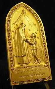 Medal-Religious-275g-L-039-Adoption-Orphans-D-039-Auteuil-Medal-Debauve-Lesaffre