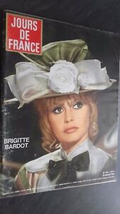Revista Mensual N º 540 Días de France Brigitte Bardot 1965 Buen Estado Infolio