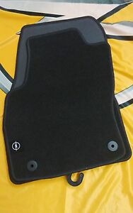 ORIGINAL OPEL ASTRA H Fußmatten Automatten Fussmatten SET FINE RIB 9163109