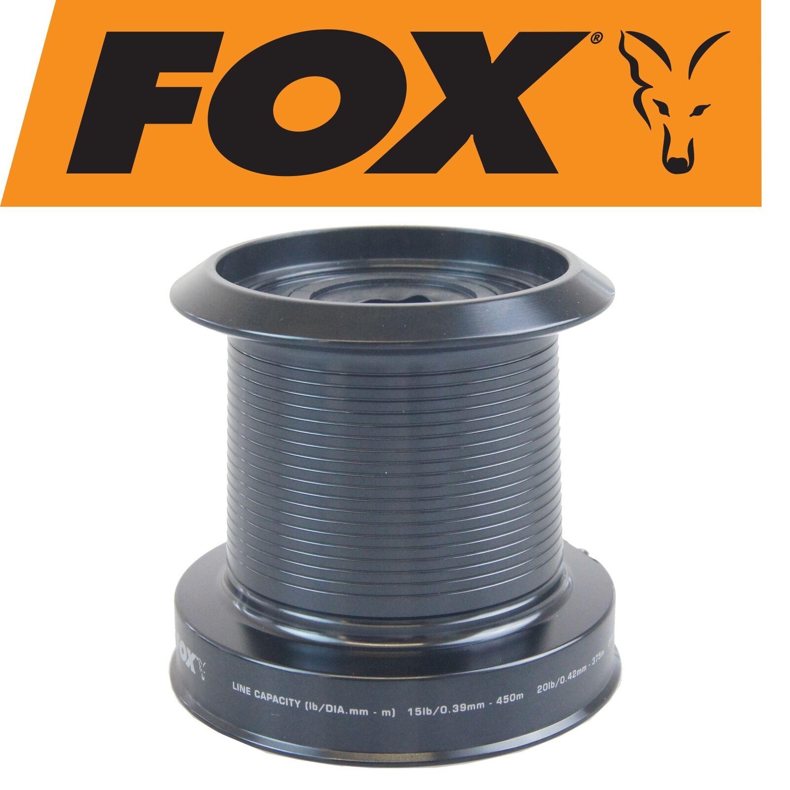 Fox EOS 12000 SPARE SPOOL Deep-Bobina di di Deep-Bobina ricambio, per Bobina Carpa ruolo d4a8a6