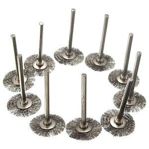 10X-3mm-Edelstahl-Draht-Rad-Buersten-fuer-Schleifer-Rotary-Tool-21mm-L2