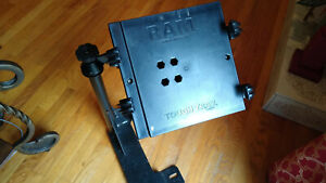 RAM-no-hole-Adjustable-Computer-Laptop-cradle-and-mount-for-Ford-Van