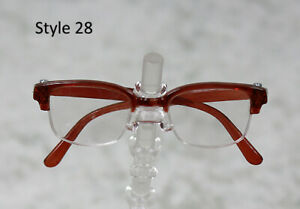 1-3-1-4-BJD-SD-60cm-45-eye-glasses-eyeglasses-Dollfie-brown-clear-lens-Style-28