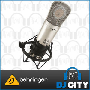 Behringer-B-2-Pro-Vocal-Condenser-Microphone-Studio-Recording-Mic-NEW-IN-BOX