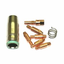 NOZZLE SPRING D86 MB25 EURO TORCH MIG WELDING TIPS 0.6MM x6MM TIP ADAPTOR