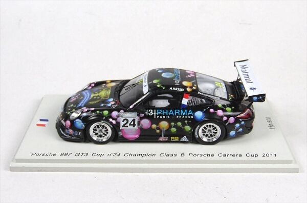 PORSCHE 997 Gt3 Cup no.24 H.Hassid - CAMPIONE CLASSE B Porsche Carrera Cup 2011