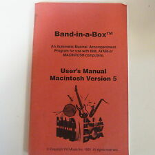 Banda en una caja manual del usuario Macintosh versión 5
