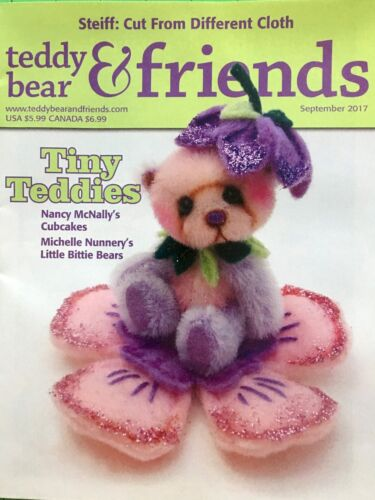 Teddy Bear And Friends Magazine September 2017 issue new!