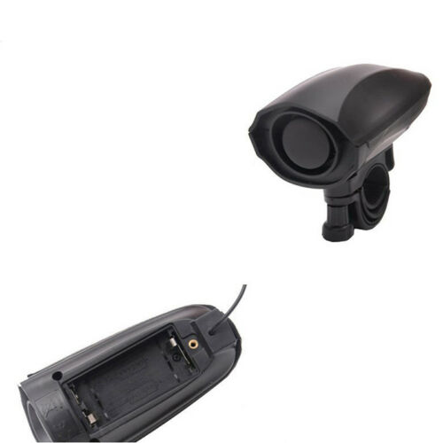 Ultra-loud Speaker Black Electronic Bicycle 6Sound Alarm Bell Bike Siren Horn HV