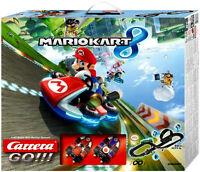 Carrera Go Nintendo Mario Kart 8 ,1/43 Race Set 20062361 . Brand