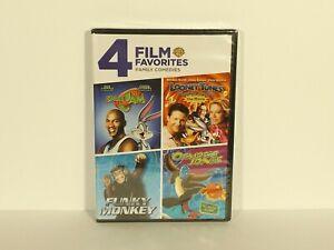 4-Film-Favorites-Family-Comedies-DVD-2-Disc-Osmosis-Jones-Space-Jam-NEW