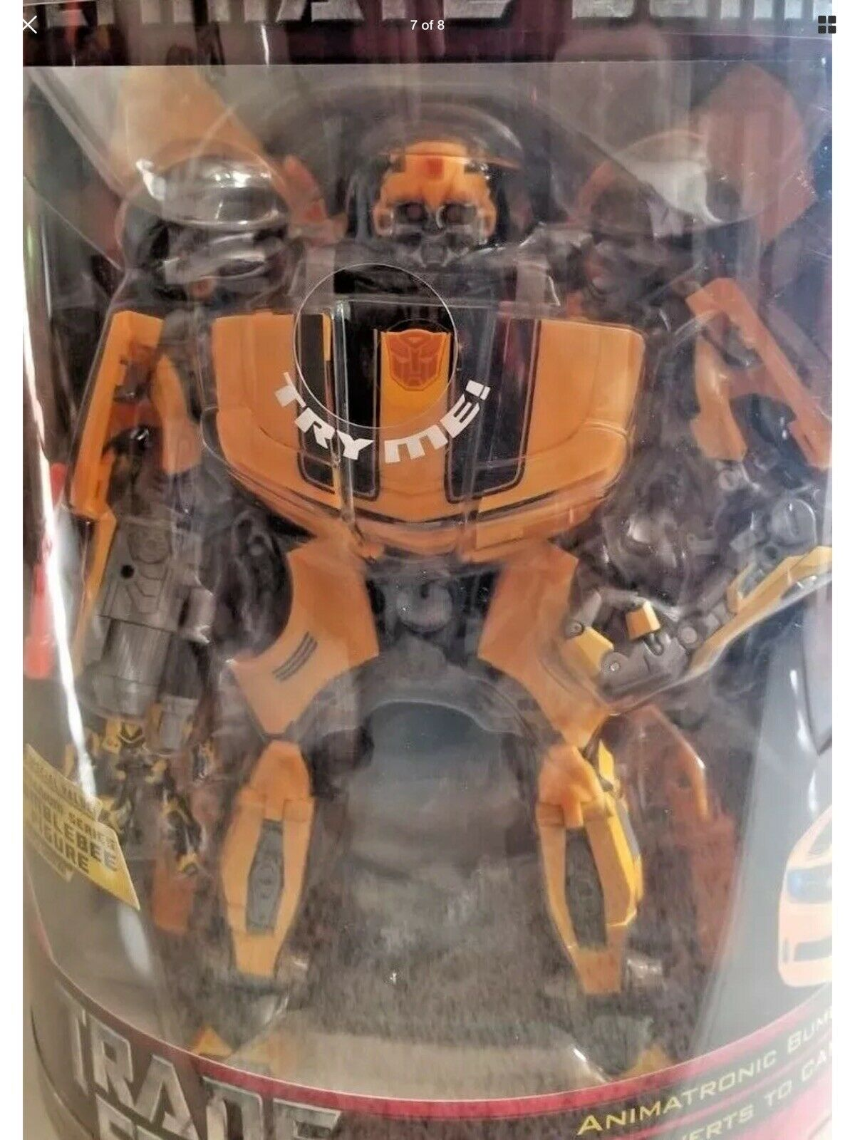 NEW SEALED Transformers Ultimate Bumblebee Costco Exclusive HUGE w Titanium Fig
