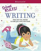 School Rules Writing, Children Activity Books Guides School Learning Kids