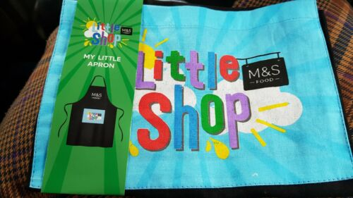 M/&S My little shop apron New with tags.
