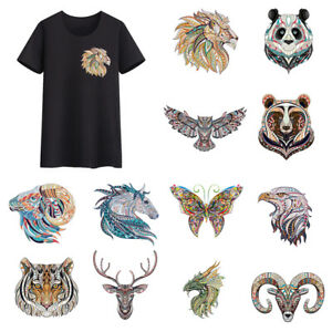Clothes-Animal-Patches-Heat-Transfer-Stickers-DIY-Printing-Iron-On-Appliques-DIY