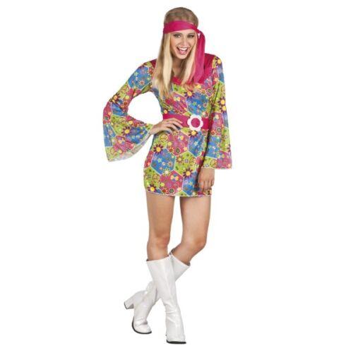 Hippie Sweet Meadow 70er 80er Karneval Schlagermove B3853 Damen Kostüm M 36-38