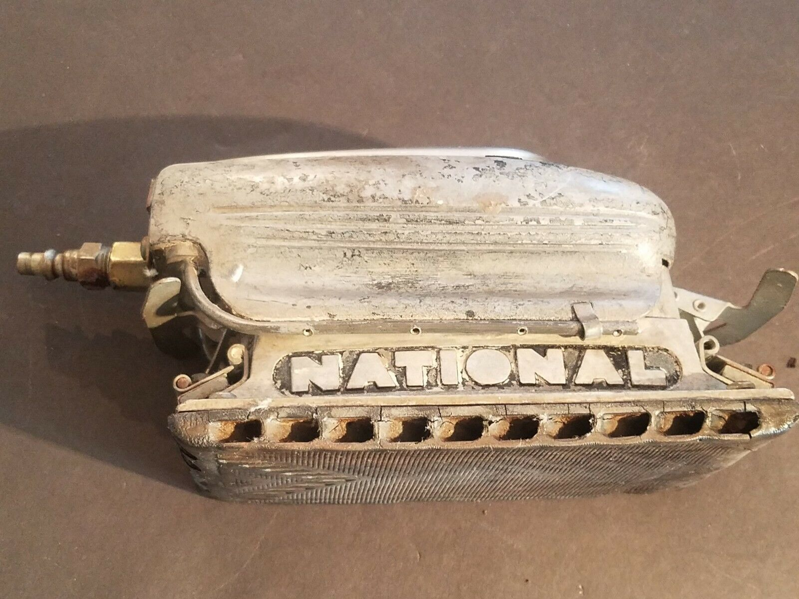 NATIONAL DETROIT 600 PNEUMATIC AIR STRAIGHT LINE SANDER (UNTESTED)