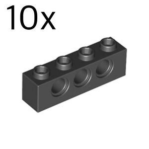 LEGO 10x Technic Tan Brick 1x4 NUOVO!!! 3701