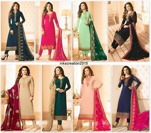 Indian-Pakistani-Designer-Bollywood-Salwar-Kameez-Suit-Wedding-Party-Wear-KB