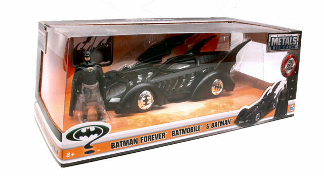 Batman Forever Batmobile & Figure 1:24 Model JADA TOYS