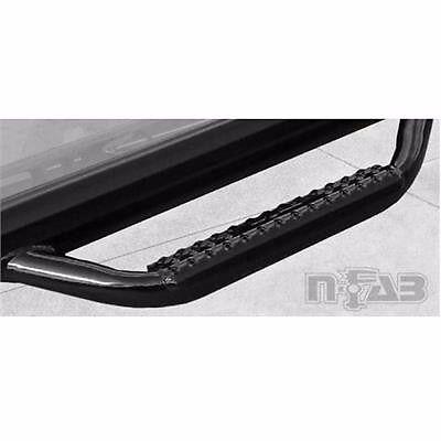 n-FAB F1785CC Gloss Black Nerf Step; Cab Length Ford F250 F350 Super Duty SuperCrew All Beds 2017