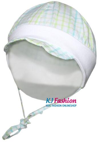 ☼NEU☼ leichte Babymütze mit Schirm z.binden von ~ MAXIMO ~ UV15 Farb /& Gr.Wahl