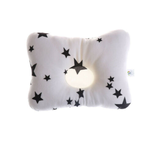 Baby Infant Pillow Newborn Anti Flat Head Syndrome for Crib Bed Neck-Support