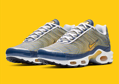 coupon code 100% high quality famous brand Nike Air Max Plus OG 'Wave Grid' BV1983-500 Size: 9.5 Yellow/Blue ...
