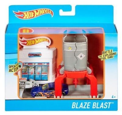 Hot Wheels Blaze Blast Track Set Playset W/ Vehicle New Bienes De Conveniencia