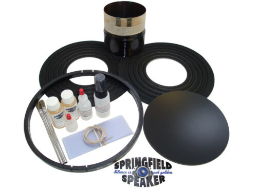 "4 Ohm Rockford Fosgate T2D415 Coil Replacement Kit Recone T2 15/"" Rebuild"
