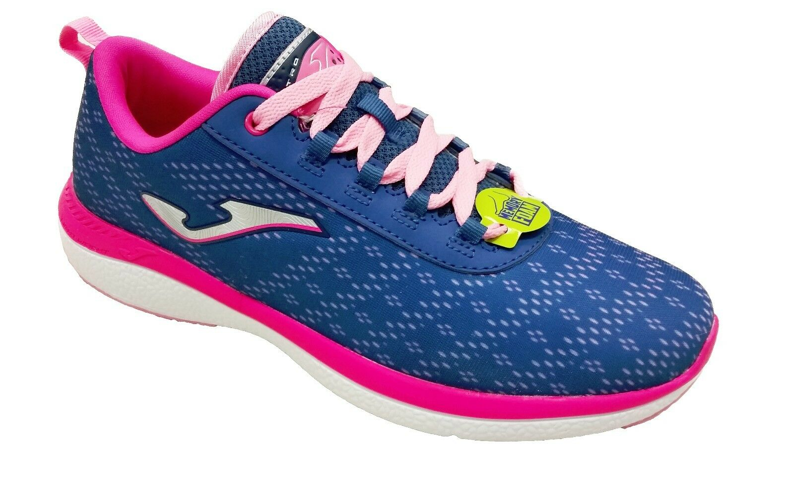 Authentic Running  Joma shoes  C.Knitro Lady 603 Navy-Pink