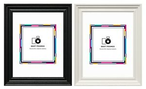 Traditional-Swept-Ornate-Wood-Effect-Picture-Frames-Various-Sizes-Photo-Frames