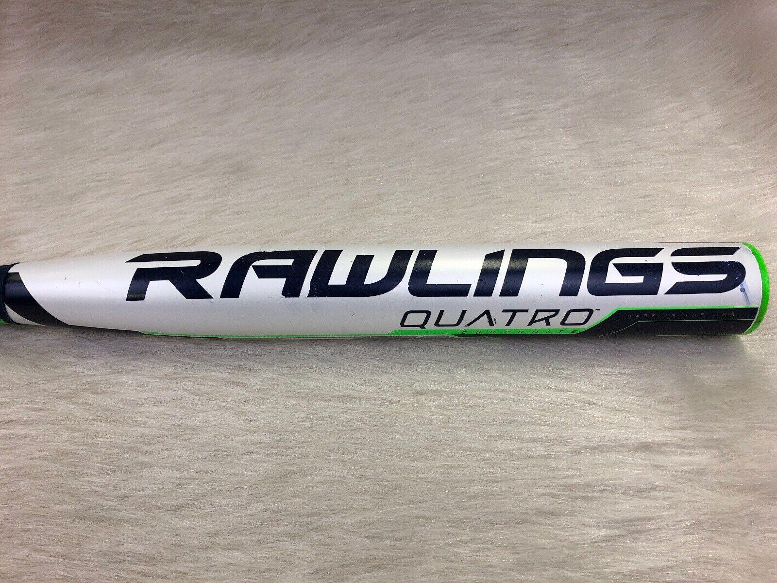 2018 Rawlings Quatro 33 24 FP8Q9 (-9) Composite Fastpitch Softball Softball Softball Bat d8cb6c