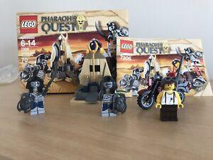 LEGO-Pharaoh-039-s-Quest-7306-Golden-Staff-Guardians-Mint-Condition