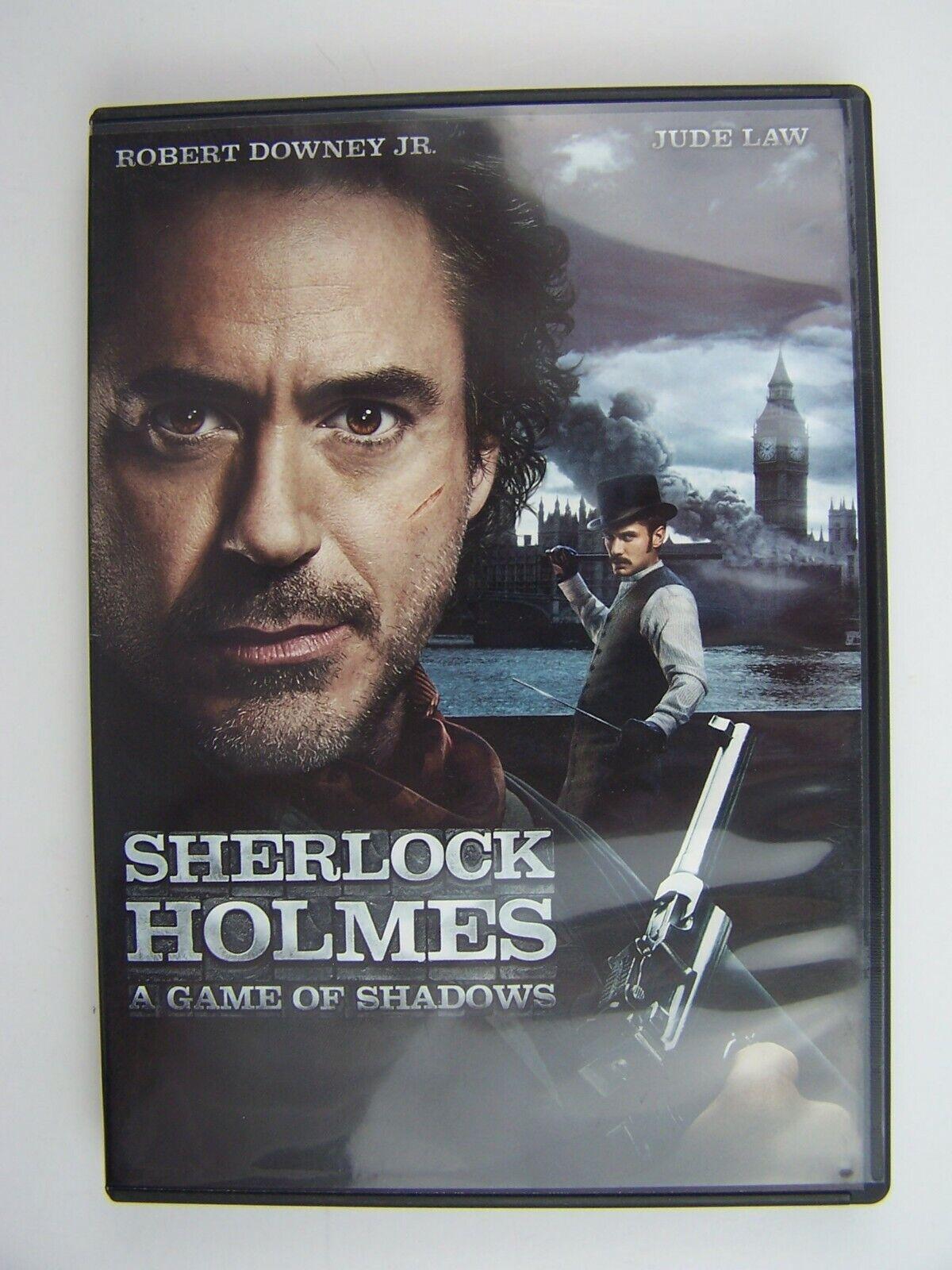 Sherlock Holmes: A Game of Shadows DVD 691041703106