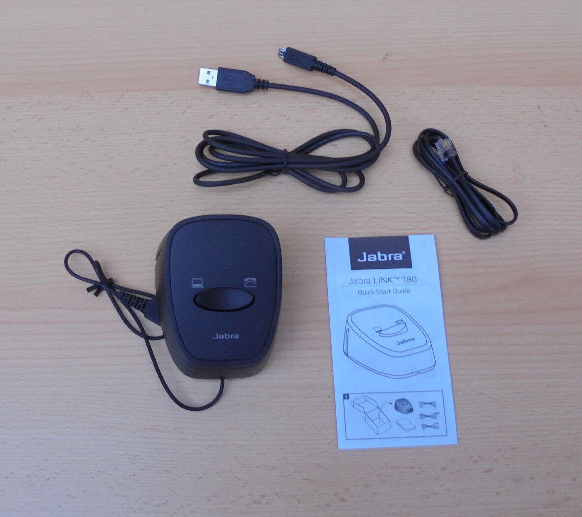 Jabra Link 180 Umschalter Pc Telefon
