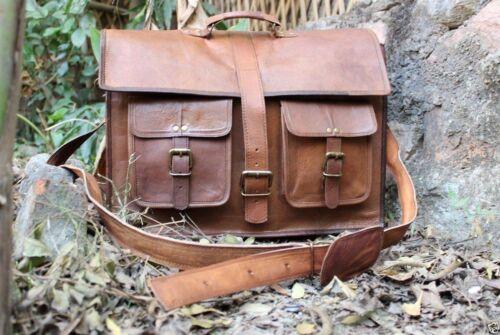 Bag Leder Laptop Aktentasche Arbeitstasche Umhängetasche Vintage Messenger qrqCzYp