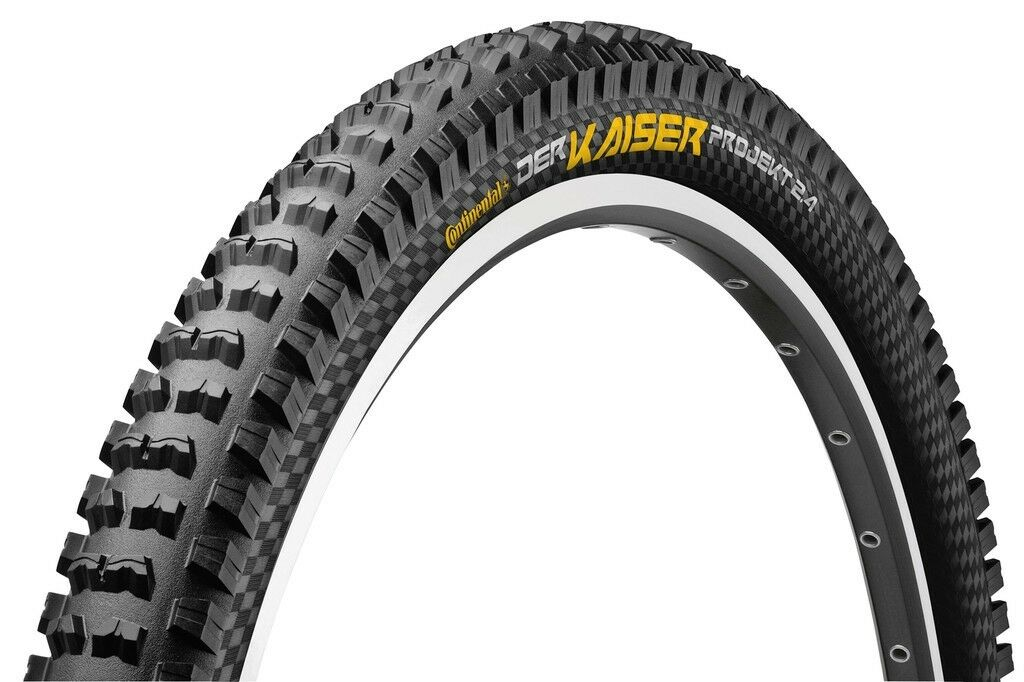 Continental Bike Tyre Der Kaiser Project 2.4 Pred. Apex all Sizes