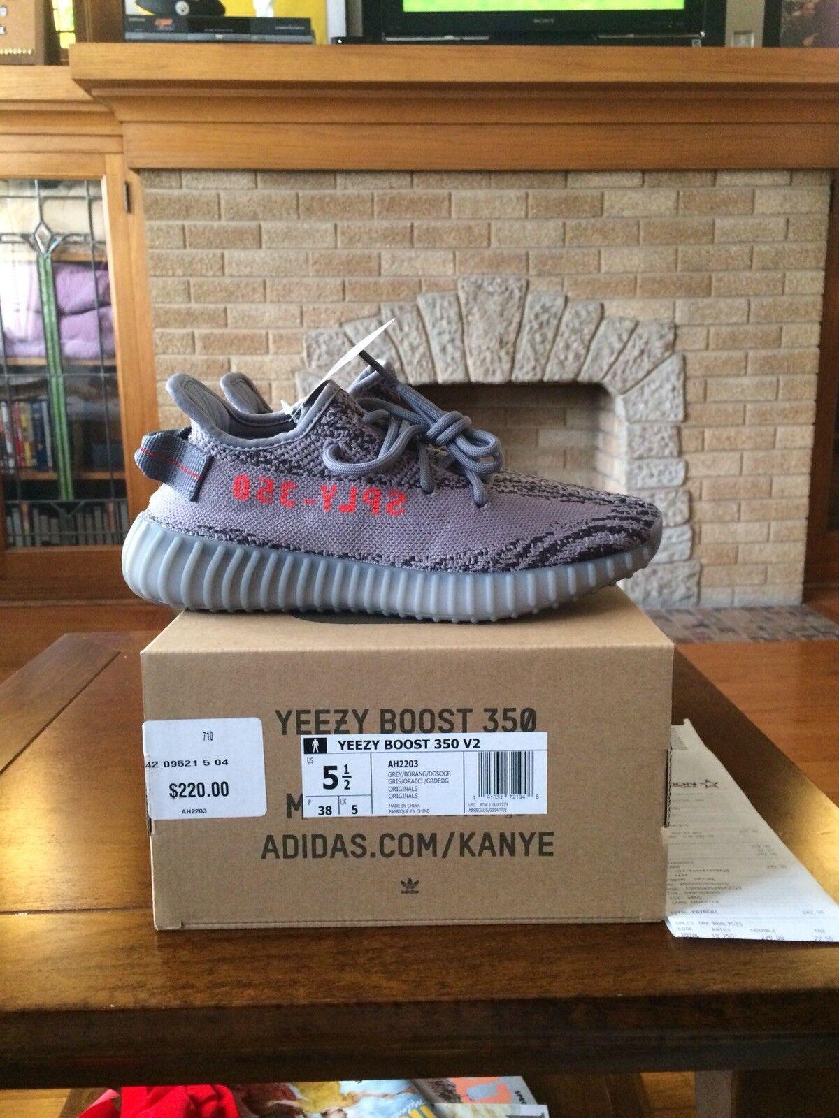 Adidas Yeezy Boost 350 V2 Beluga 2.0 size 5.5