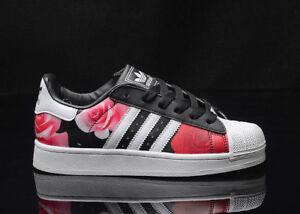 Adidas-Superstar-Women-Rubber-Shell-Toe-Street-Style-Sneaker-Shoes-D65474
