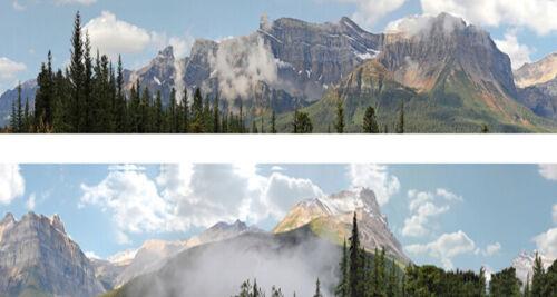 "Gauge Series 260 /""Rockies/"" Photographic Backscene # N260 id Backscenes N"