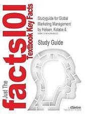 Studyguide for Global Marketing Management by Kotabe & Helsen, ISBN 978047123062